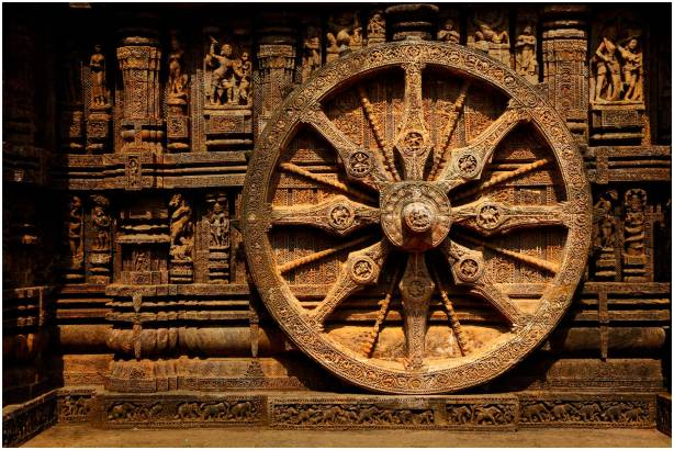 '2'_Dharma_Wheel,_The_Wheel_of_Life_at_Sun_Temple_Konark,_Orissa_India_February_2014