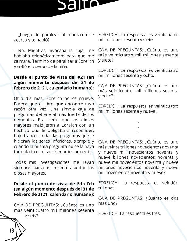 Revista 8 Salto al reverso impresa 218